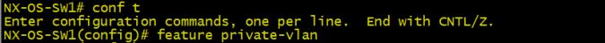 private VLAN1