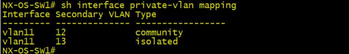 private VLAN9